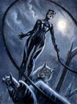 Snow Catwoman