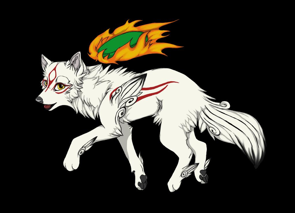 Chibi Okami Amaterasu by ElementsWolffy on DeviantArt