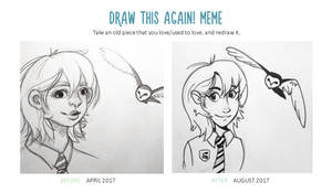 Draw This Again - Slytherin Girl