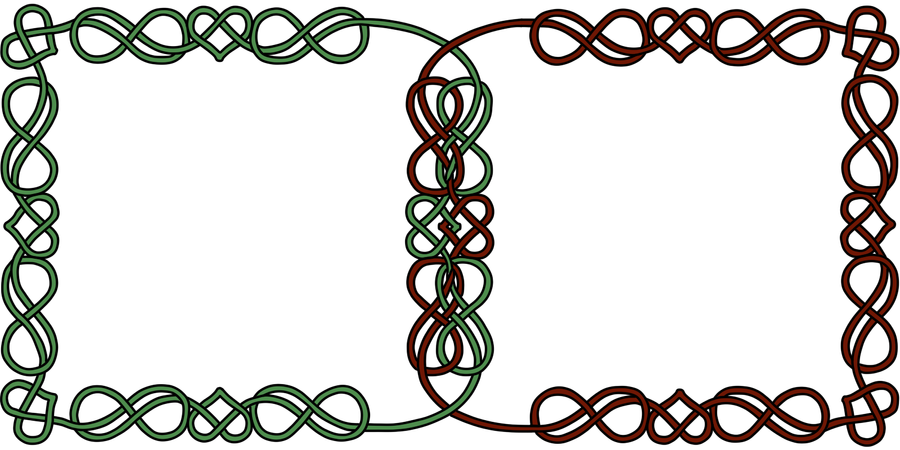 Celtic Knot Infinity Symbol And Heart Double Icon By Pagangirl1986