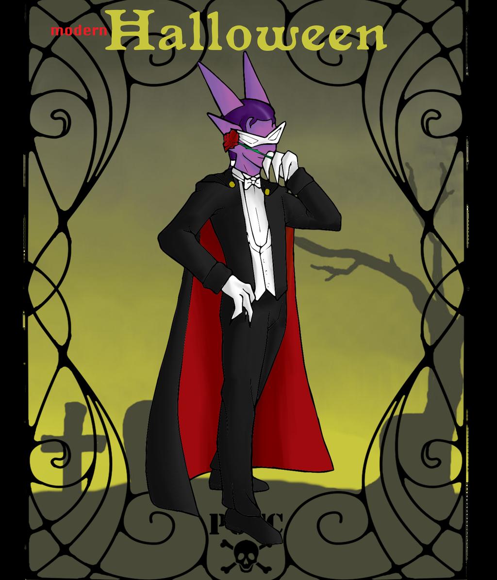Modern Halloween Meme: Aspyn by DasherDoodle