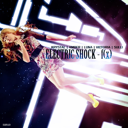 f(x) - Electric Shock by SBR19 on DeviantArt F(x) Electric Shock Album Cover