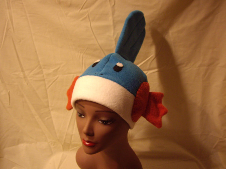Mudkip Hat 'On the head' by FleeceMonster