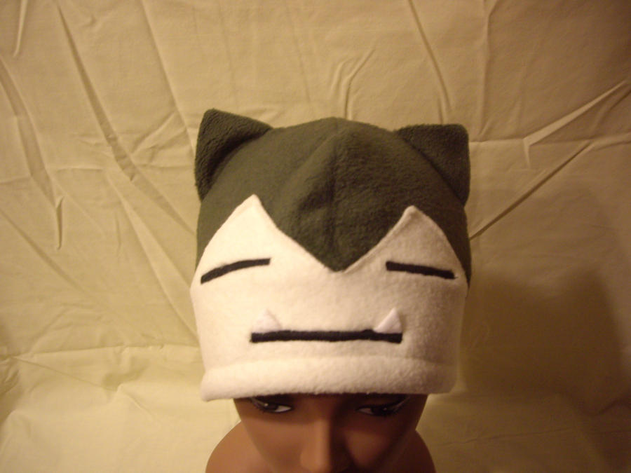 "Snorlax Hat ""On the Head"" by FleeceMonster"
