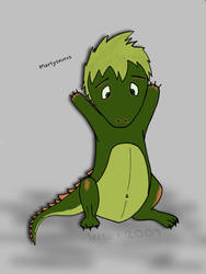 Martysaur by Leitor