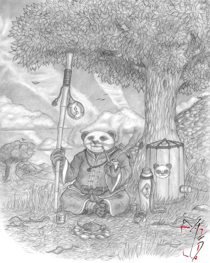 Pandaren Brewmaster by Islandmountain