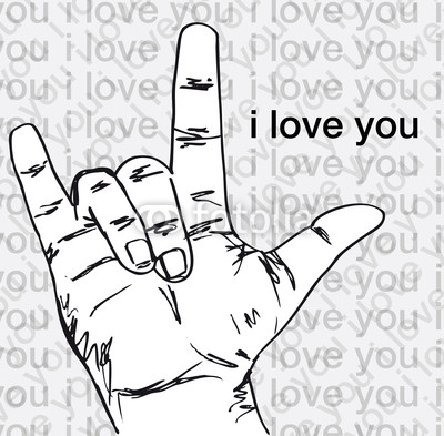 I Love You In Sign Language By Dennisgallardo On Deviantart