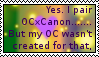 OcXCanon stamp by soloratiste