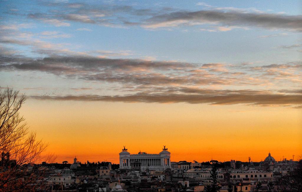 Roman Skyline by VeryBadGirl