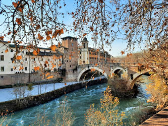 Roman Walks - The Tiber Island