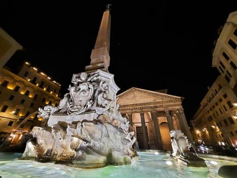 Roman Walks-Piazza della Rotonda and the Pantheon