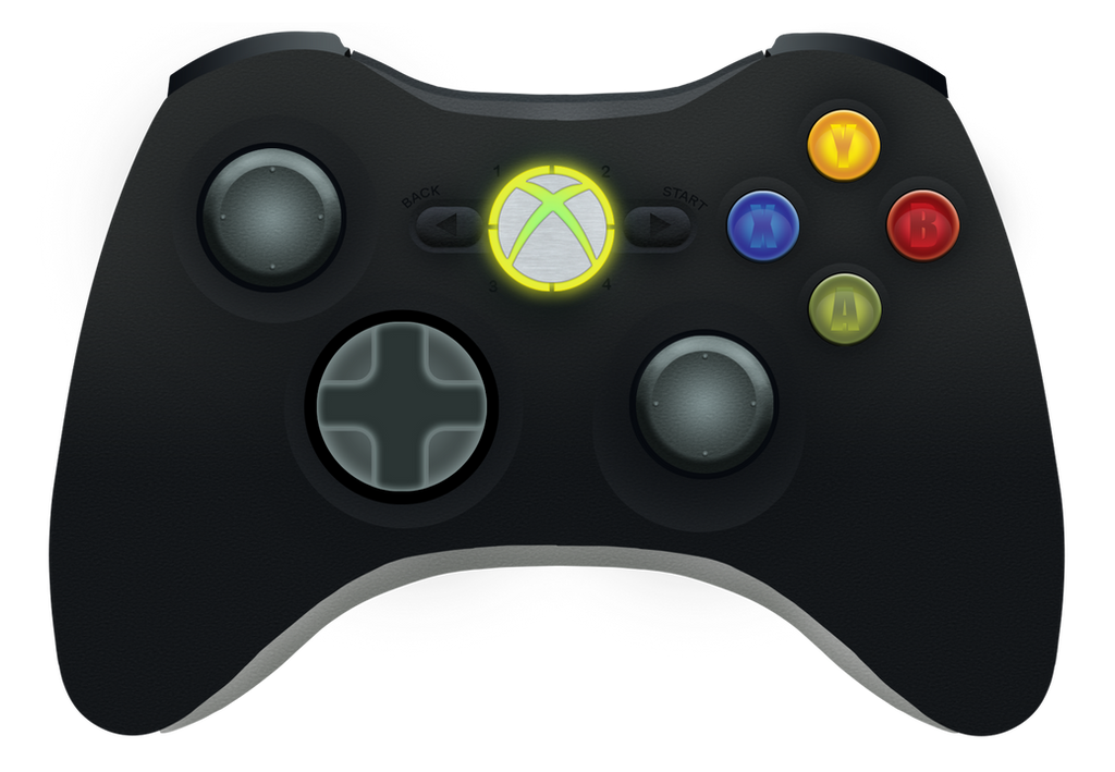 Xbox Live Drawing : Xbox controller by megaman on deviantart