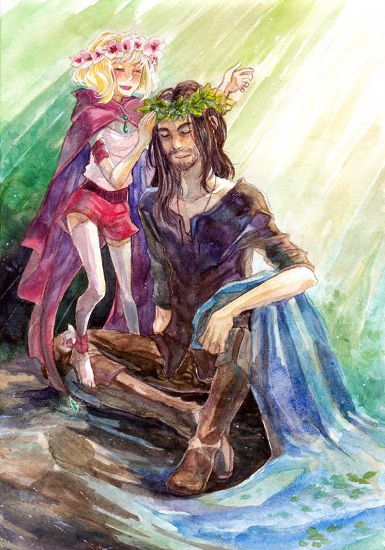 Mirriel and Lilimel