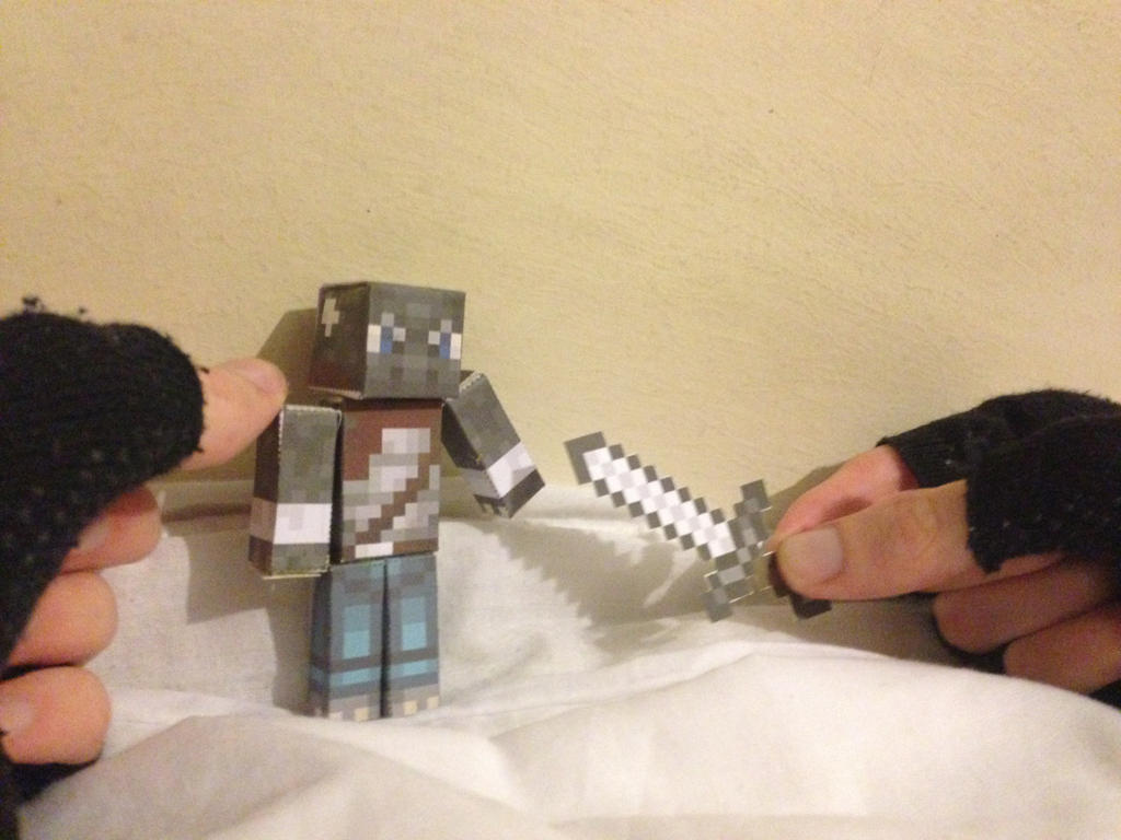IRL Builds  I_think_you_dropped_this______minecraft_papercraft_by_xshadowscalex-d7szxrj