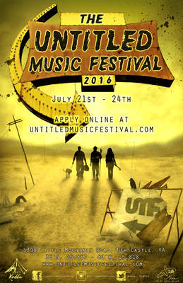 The Untitled Music Festival 2016 Poster