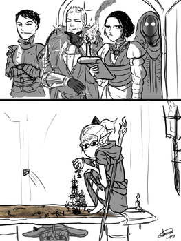 Toosday Doodles: Adventures with Lavellan