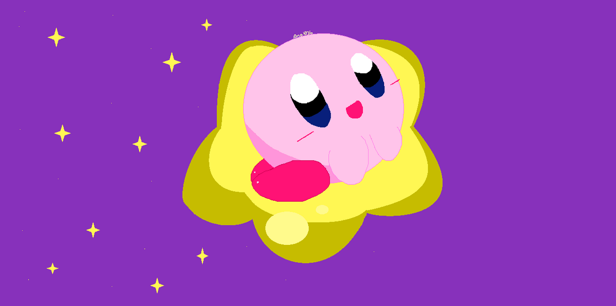 :AT:Kirby En La Ward Star : by ana1036