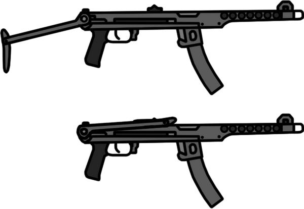 Walfas Weapons: PPS-43 by RED-IMPRISONER on DeviantArt
