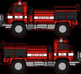 Walfas Transport: AC-1,6-10(GAZ-66 Fire Dept.)