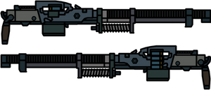 Walfas Weapons: Abzats(Metro 2033) by RED-IMPRISONER
