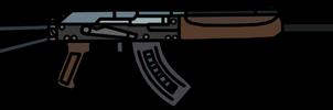 Walfas Weapons: Saiga-12(Metro 2033)