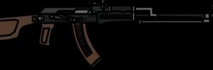 Walfas Weapons: RPK-74(Metro 2033)