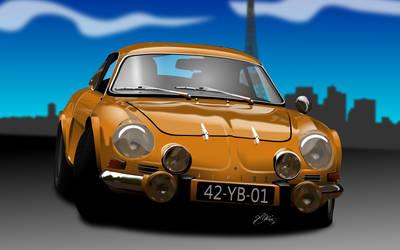 Renault Alpine by KJRents