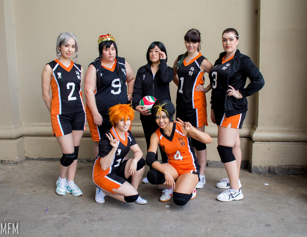 Genderbent Haikyuu!! Group by MFM-Photography