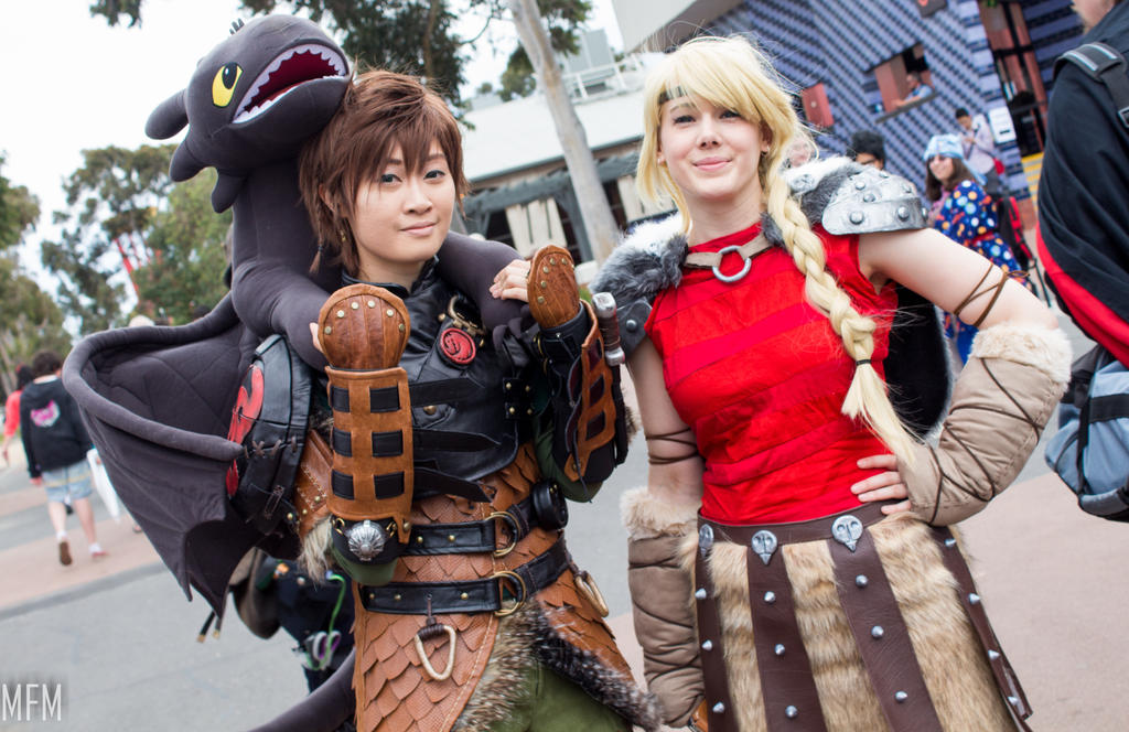 Hiccup and Astrid by MFM-Photography