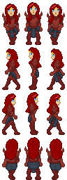 RPG Maker Sprite Gravelyn