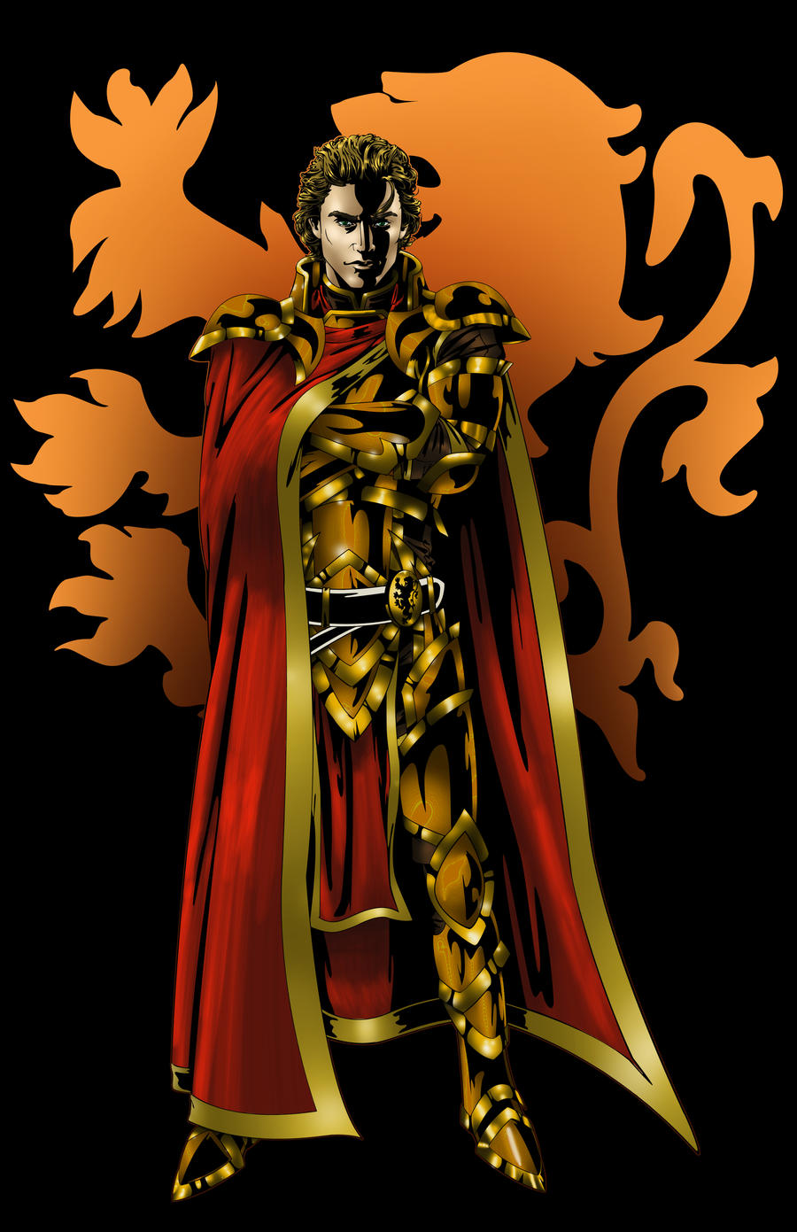 Game of Thrones... Jaime Lannister Art Hand