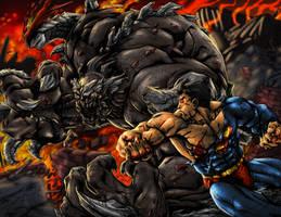 Superman Doomday Re by SiriusSteve