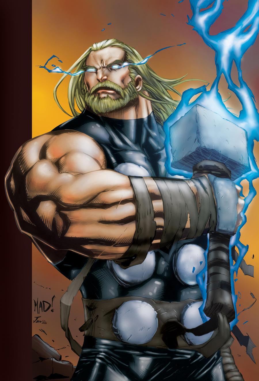 Ultimate Thor by SiriusSteve