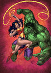 Wonder Woman VS The Hulk