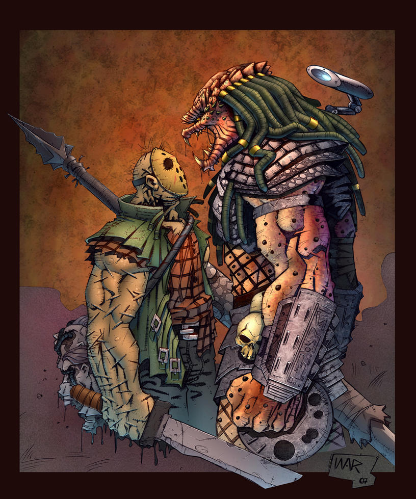 Predator VS Jason by SiriusSteve
