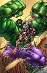 Hulk VS Weapon X
