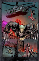 Savage Wolverine by SiriusSteve