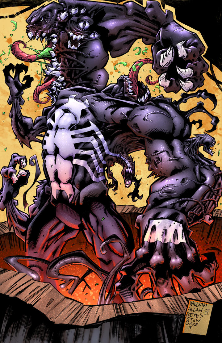 Venom The Madness Bw by SiriusSteve on DeviantArt