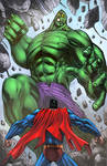 Superman Hulk Fun By Mikemaluk