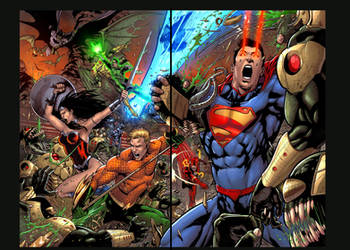Justice League by SiriusSteve