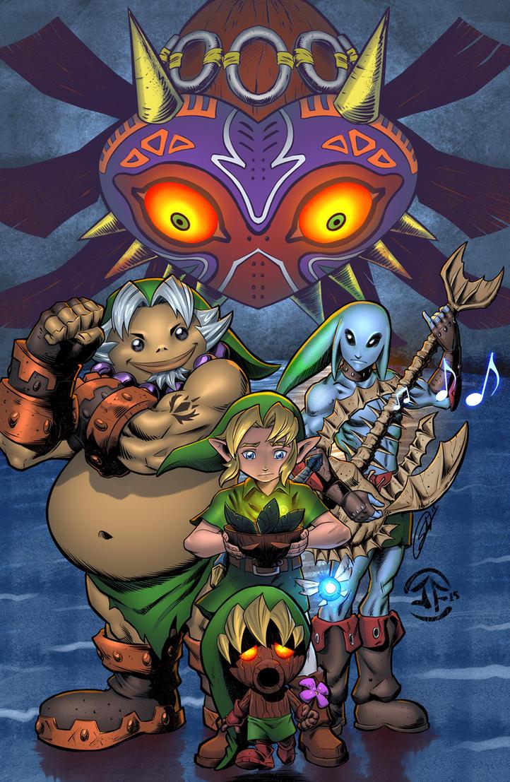 Legend of Zelda by SiriusSteve
