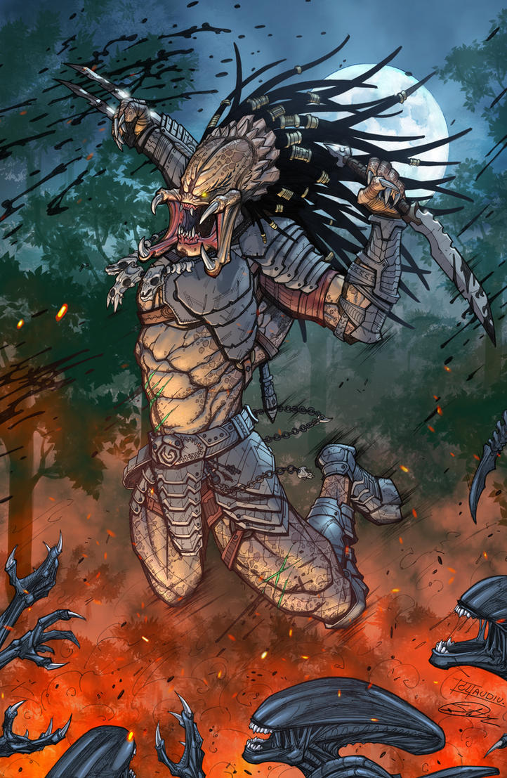 Predator Jungle by SiriusSteve