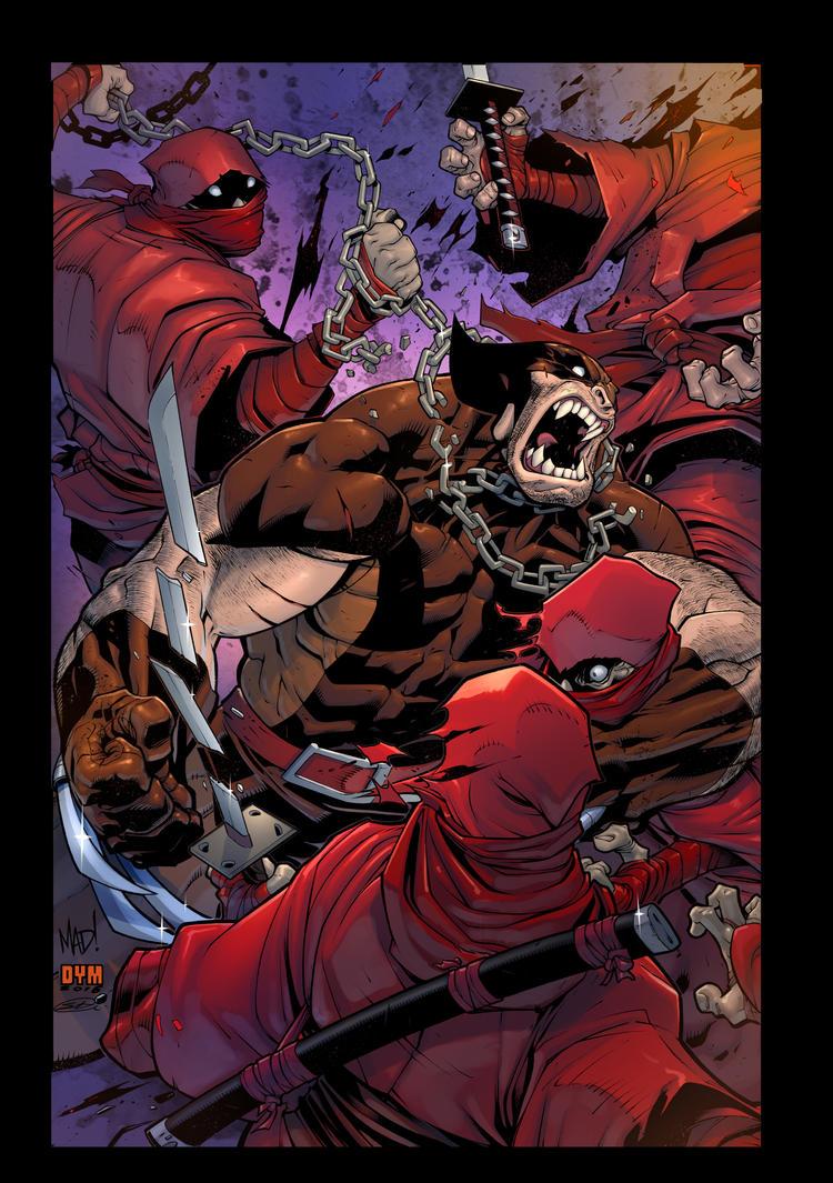 Savage Wolverine by SiriusSteve