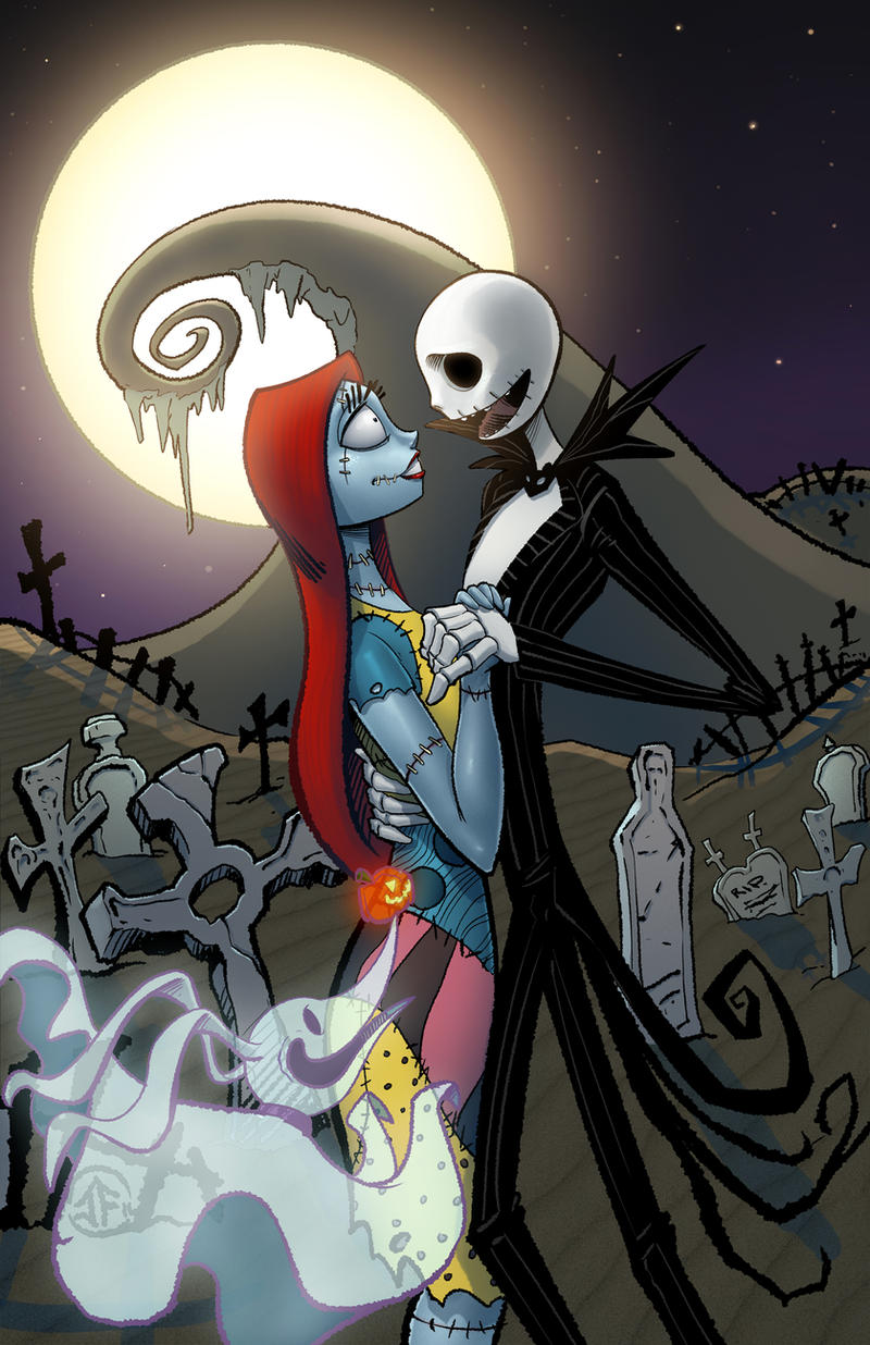Jack and Sally by SiriusSteve