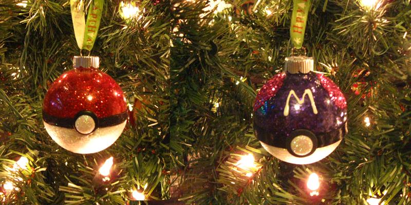 Pokeball Christmas Ornament by LethalPepsi