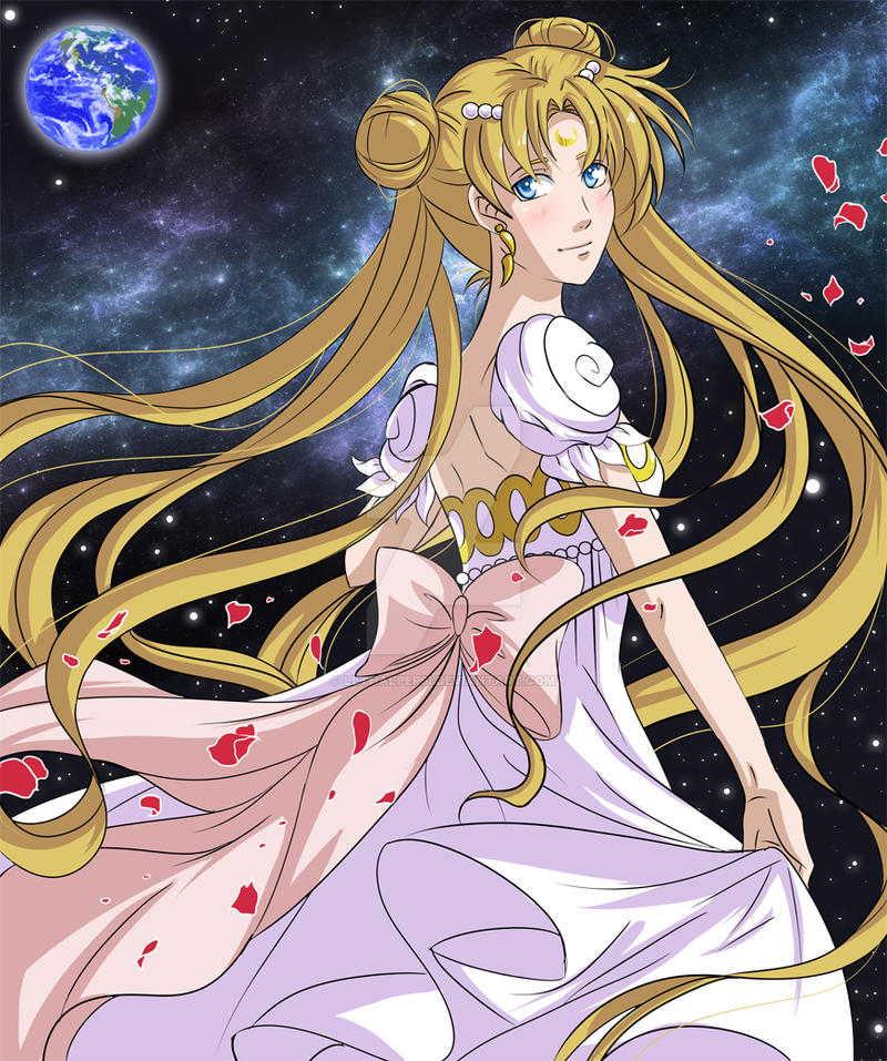 Moon Princess Serenity by LethalPepsi