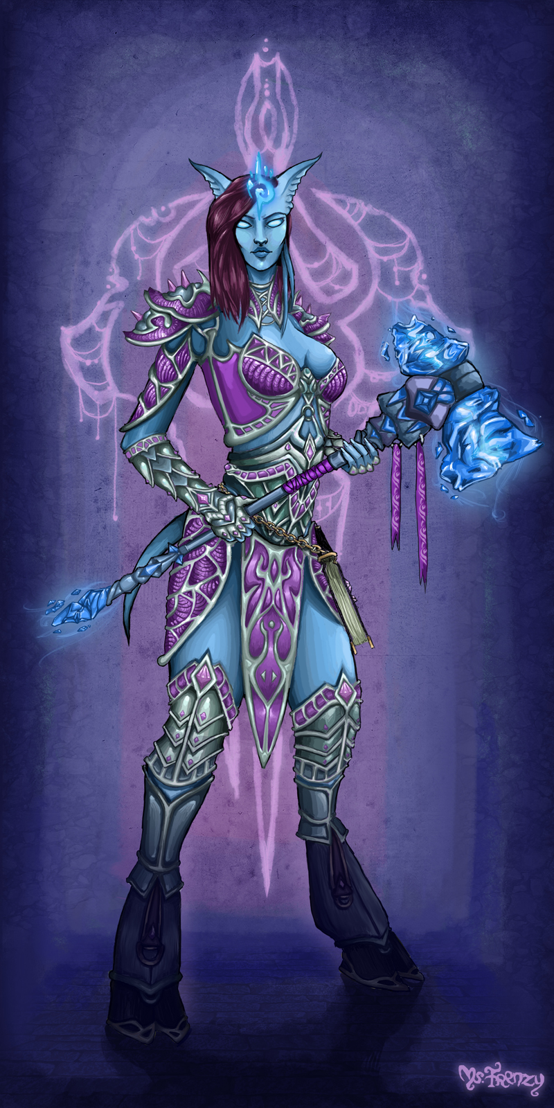 Blood elf and night elf threesome in whorecraft vr - 3 part 7