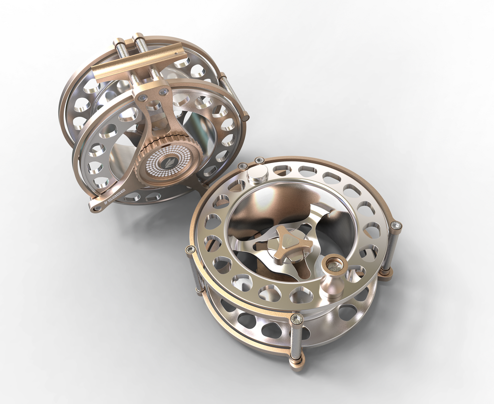 Sage Fly Reel by ZDESIGN23