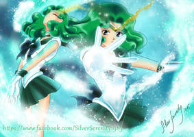 Sailor Neptun - Transformation by SilverSerenity1983