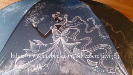 Sailor Moon Umbrella Serenity/ Pluto by SilverSerenity1983